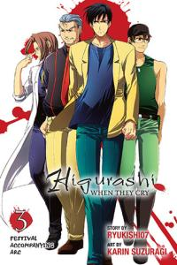Higurashi When They Cry: Festival Accompanying Arc, Vol. 3