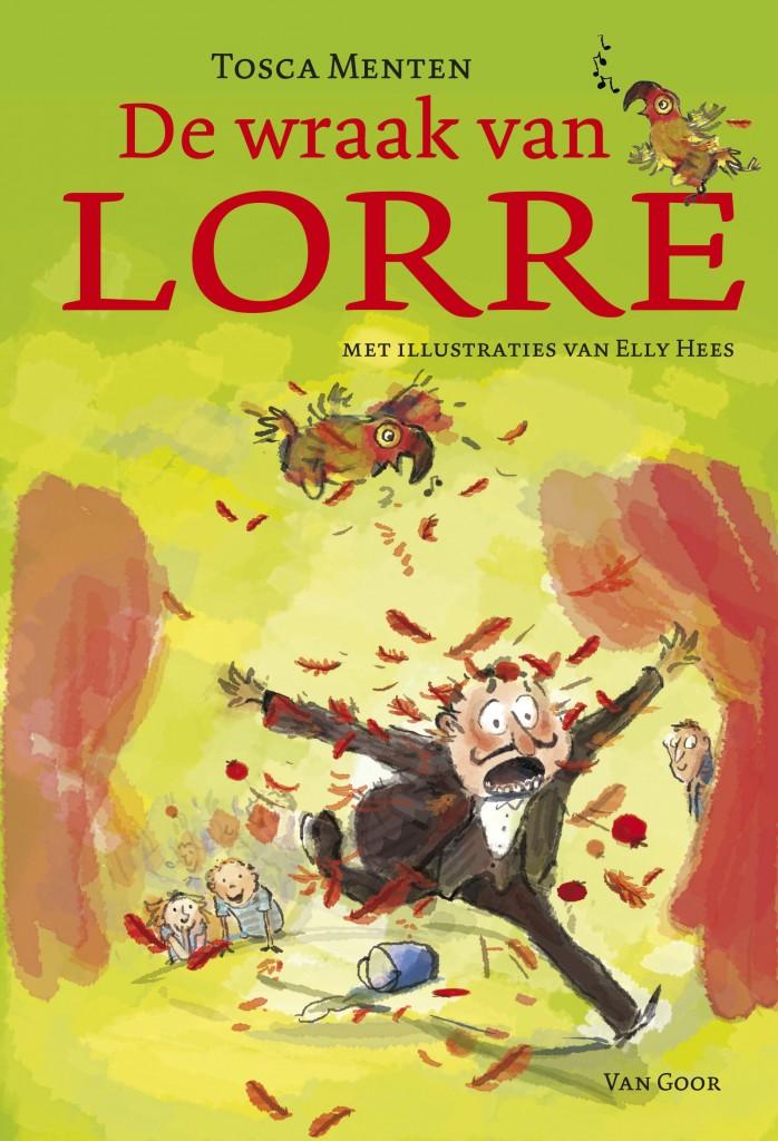 Omslag De wraak van Lorre-beeld van hees 2011.indd