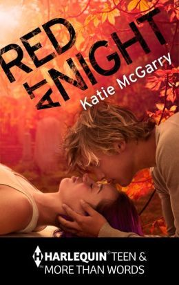 Red at Night, Kissing, Man, Woman, Orange, Romance, Katie McGarry, Novella