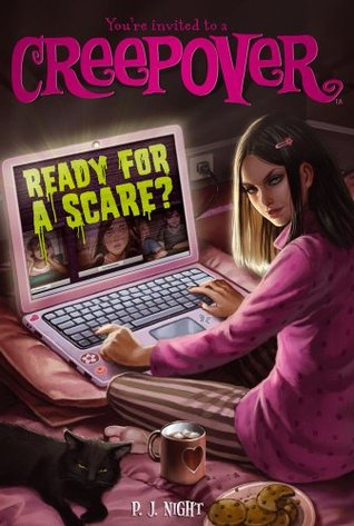 Ready for a Scare, You're Invited to a Creepover, Laptop, Girl, Creepover, Horror, Children's Books, Ready for a Scare?