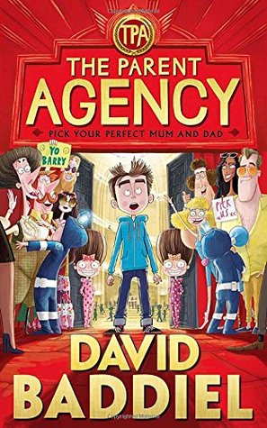 The Parent Agency, Jim Field, David Baddiel, Red, Red Carpet, People, Boy, Golden Letters, Children's Books