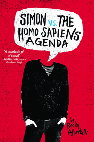 Simon vs The Homo Sapiens Agenda, Person, Headless, Red, Becky Albertalli, Young Adult, LGBT, Romance, Cute