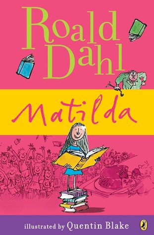 Roald Dahl, Matilda, Girl, Books, Reading