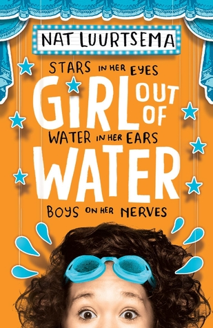 Girl out of Water, Sports, Swimming, Humour, Young Adult, Orange, Head, Goggles, Nat Luurtsema