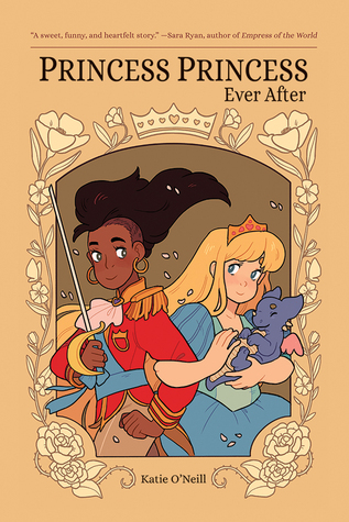 Princess Princess Ever After, LGBT, Graphic Novels, Girls, Humour, LGBT, Brown, Border, Magic, Fantasy, Princesses, Prince, Katie O'Neill