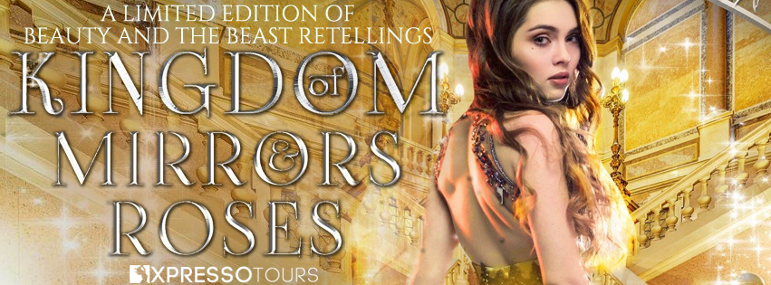 Kingdom of Mirrors & Roses, Banner, Cover Reveal, Yellow/Gold
