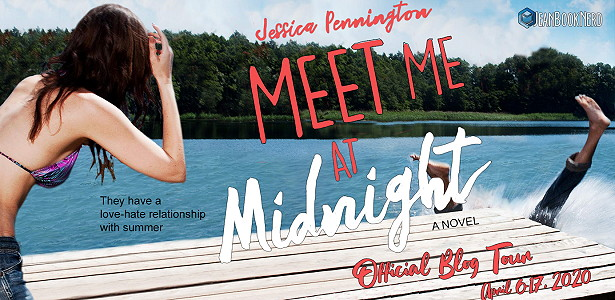 Meet me at Midnight, Young Adult, Jessica Pennington, Lake, Pier, Girl, Falling in water, Summer