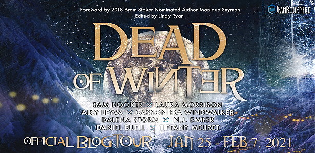 Anthology, Christmas, Festivities, Snow, Moon, Yellow Letters, Short Stories, Horror, Dead of Winter, Lindy Ryan, N.J. Ember, Sam Hooker, Seven Jane, Alcy Leyva, Tiffany Meuret, Laura Morrison, Dalena Storm, Cassondra Windwalker Daniel Buell, Monique Snyman