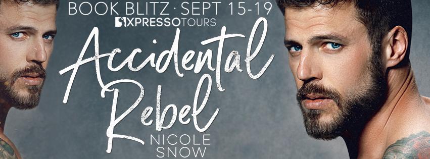 Accidental Rebel, Nicole Snow, Gray, Beard, Tattoos, Face, Adult, Romance
