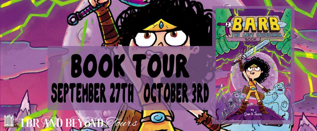 Barb the last Berzerker, Fantasy, Children's Book, Berzerkers, Graphic Novel, Monsters, Goblins, Fantasy, Girl, Sword, Dan Abdo, Jason Patterson