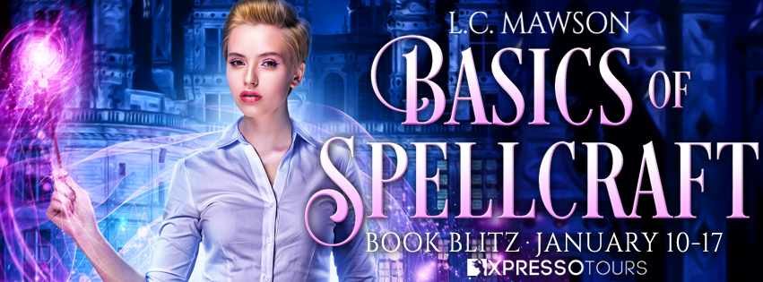 Basics of Spellcraft, Magic, Spells, Castle, Short Hair, Woman, Blouse, Banner, L.C. Mawson