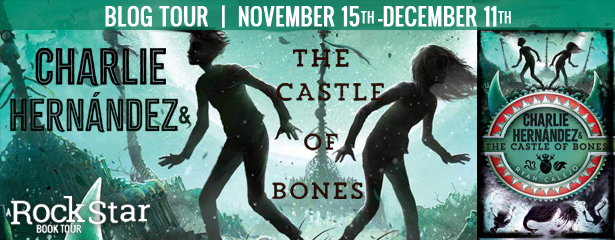 Ryan Calejo, Green, Silhouettes, boy, girl, Cover, BannerCHARLIE HERNANDEZ AND THE CASTLE OF BONES,