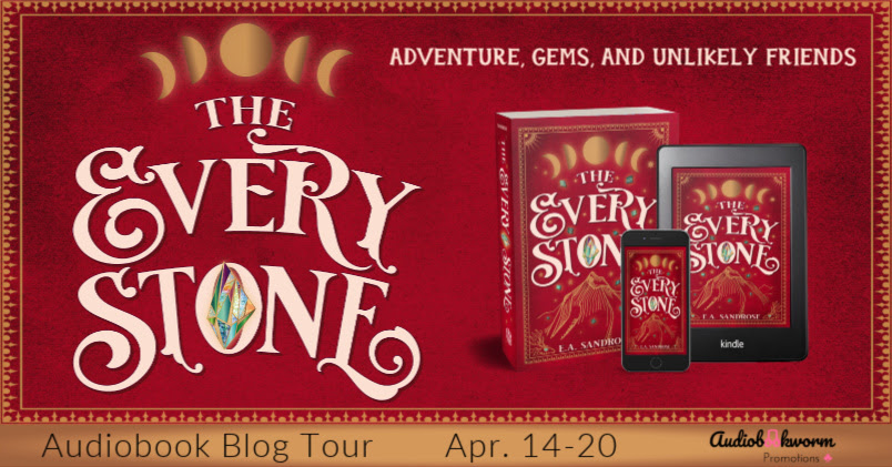 The Every Stone, Gempendium, Young Adult, Jewels, Friendship, Survival, Children's Books, Red, Moons, Moon Phases,Fantasy, Banner