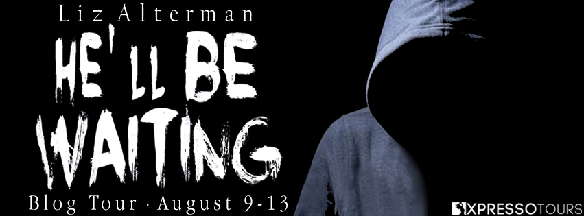 Mystery, Thriller, Hoodie, He'll Be Waiting, Liz Alterman, Young Adult