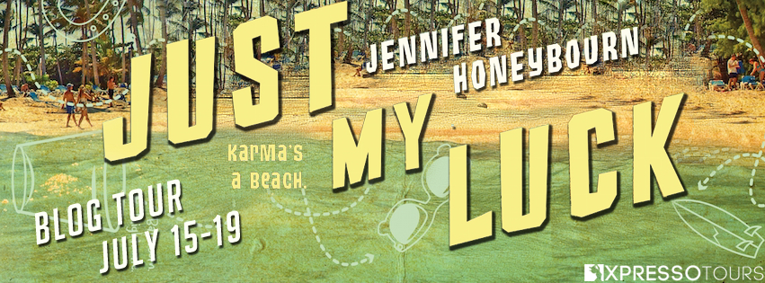 Jennifer Honeybourn, Just My Luck, Banner, Beach,