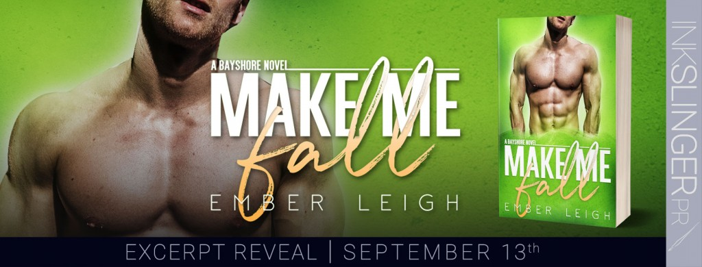 MAKE ME FALL, Green, Banner, Torso, Abs, Muscles, Ember Leigh