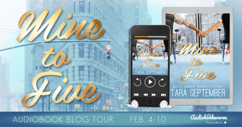 Mine to Five, Holding Hands, Woman, Man, Building, Phone, Blue, Tara September, Audio Tour