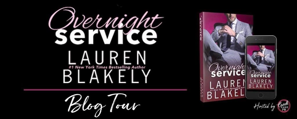 Overnight Service, Lauren Blakely, Suit, Guy, Dark, Banner