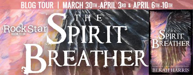 Fantasy, Dark Fantasy, Powers, Past, Secrets, Spirit Breather, Bekah Harris, Feathers, Wings, Sky, Clouds, Native Guardians, Banner, Tour,