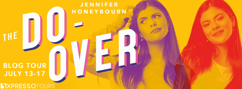 The Do-Over, Jennifer Honeybourn, Contemporary, Orange, Girl, Purple, Red, Romance, Young Adult, Banner, Fantasy, Magic,