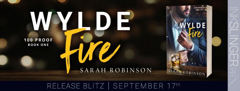 Wylde Fire, Sarah Robinson, Dark, Suit, Adult, Romance, Banner