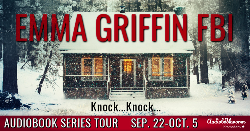 Emma Griffin FBI, THE GIRL IN CABIN 13, THE GIRL THAT VANISHED, Mystery, Murder, Snow, Cabin, Forest, Woods, Secrets, Disappearances, Truths, Clues, FBI, Police, Banner