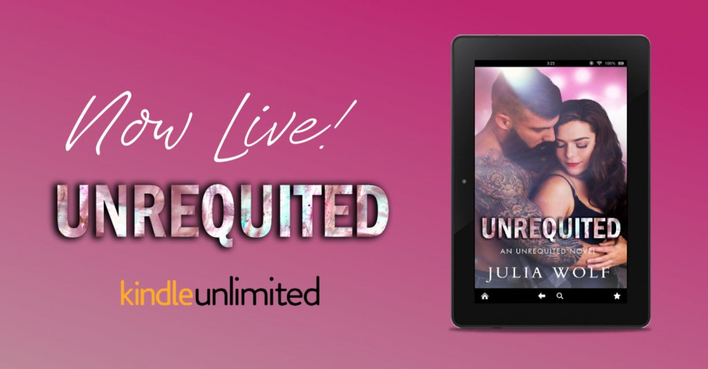 Pink, Banner, Romance, Band, Dual POV, Unrequited, Julia Wolf