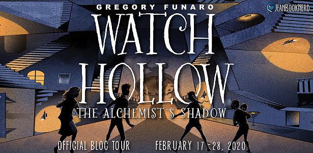 Watch Hollow: The Alchemist's Shadow, Gregory Funaro, Children's Book, Fantasy, Banner
