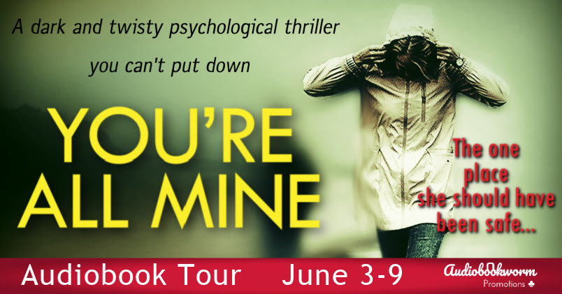 You're All Mine, Ruth Harrow, Thriller, Psychological, Mystery, Woman, Yellow Letters
