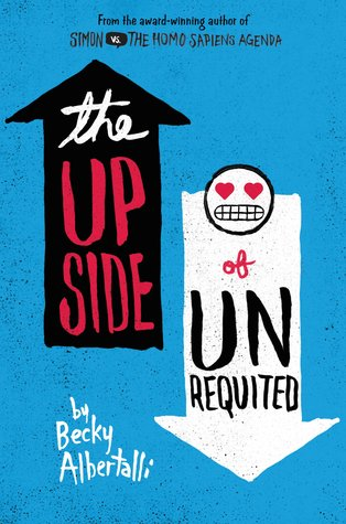 The Upside of Unrequited, Blue, Arrows, LGBT, Young Adult, Romance, Cute, Becky Albertalli