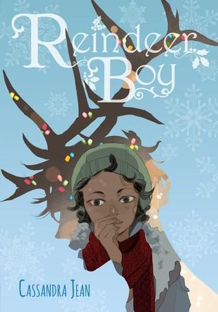 Reindeer Boy, Cassandra Jean, Graphic Novel, Blue, Antler, Cover Love, Holidays, Magic, Romance