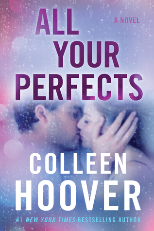 Purple, kissing, pink, All Your Perfects, Colleen Hoover, Romance