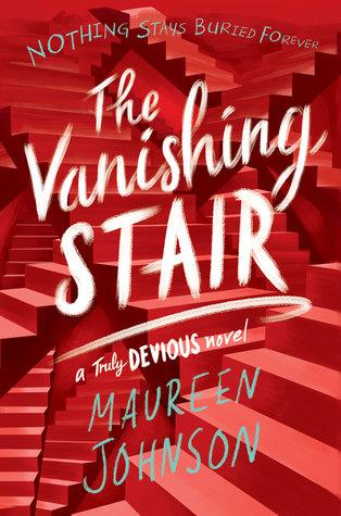 The Vanishing Stair, Maureen Johnson, Stairs, Red
