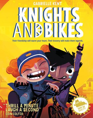 Knights and Bikes, Yellow, Girls, Bicycles, Red Hair