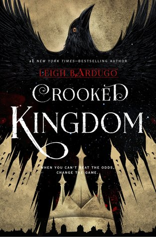 Crooked Kingdom, Raven, Gold/Black Cover, Magic, Grisha, Leigh Bardugo