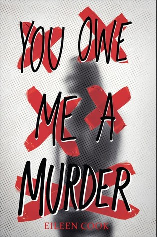 You Owe Me A Murder, Young Adult, Mystery, Murder, Names Crossed Out, Gray Cover