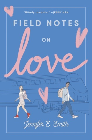 Field Notes on Love, Young Adult, Cute, Blue Cover, Hearts