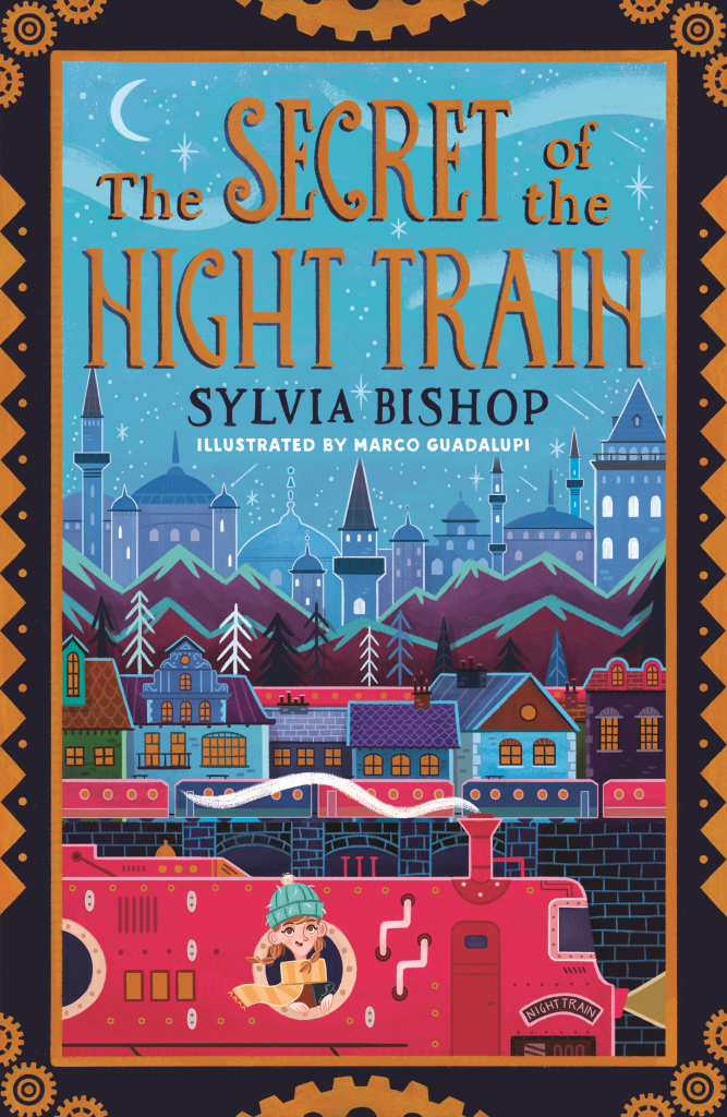 The Secret of the Night Train, Sylvia Bisshop, Children's book, Mystery, Trains, Cover Love