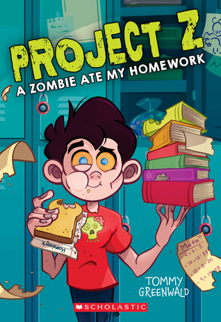 Project Z, A Zombie Ate My Homework, Zombies, Humour, Children's Books