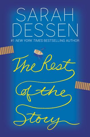 Sarah Dessen, Blue Cover, Boat in the Lake, Two Shores, The Rest of the Story, Young Adult