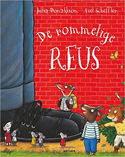 De rommelige reus, picture book, giants, big shoes, animals, children's books