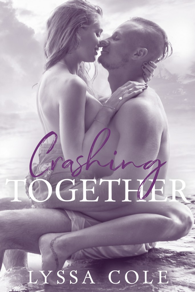 Crashing Together by Lyssa Cole, Sexy, Hugging, Kissing, Nakedness, Purple/Gray, Swoon