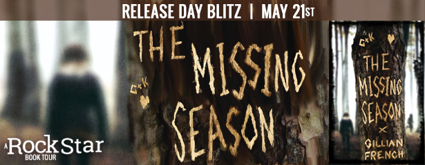 THE MISSING SEASON, Horror, Missing, Young Adult, Gillian French