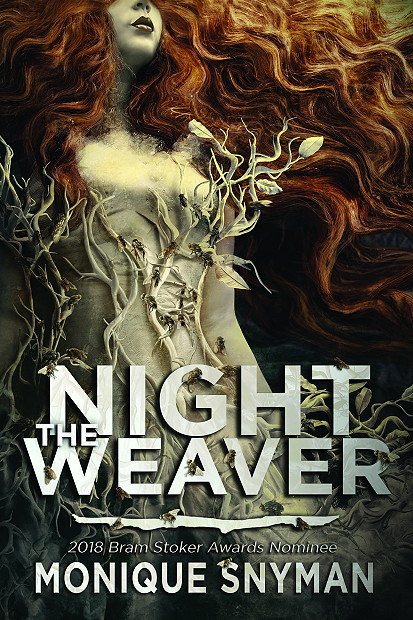 The Night Weaver, Horror, Monique Snyman, Cover Love, Mystery, Red Hair