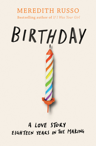 Birthday, Meredith Russo, Young Adult, Candle, Rainbow