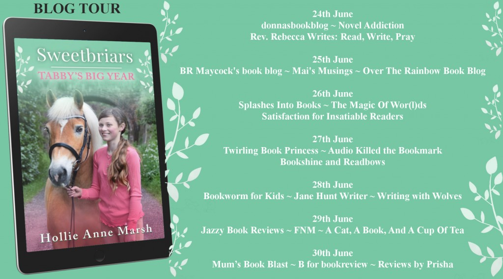 Tabby's Big Year, Children's Books, Green, Banner, Horse Hollie Anne Marsh
