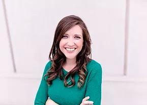 Tori Kron, Green sweater, Photograph, Author