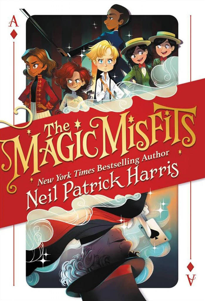 The Magic Misfits, Children's Books, Playing card, Ace, Group of kids, colourful, Neil Patrick Harris, Lissy Marlin