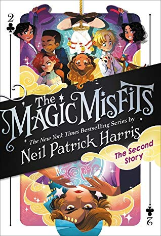The Magic Misfits: The Second Story, Book 2, Fortune Teller, Colourful Cover, Magic, Neil Patrick Harris