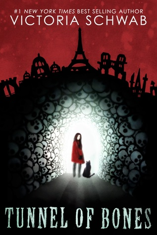 Tunnel of Bones, Victoria Schwab, Red, Black, Bones, Skulls, Cats, Red Coat, Young Adult, Horror, Ghosts